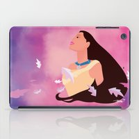 pocahontas iPad Cases featuring Pocahontas by Skyla