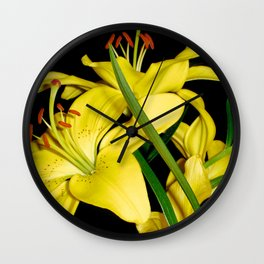 Lily Wall Clock