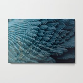 Ombre wings Metal Print