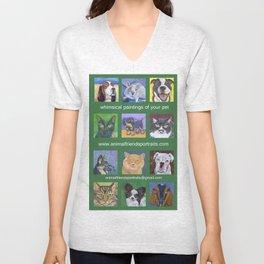 Animal Friends Promo Bag Unisex V-Neck