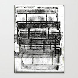 be kind, rewind Canvas Print