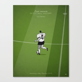 Franz Beckenbauer Canvas Print