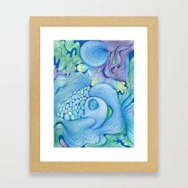 Drawings from November, December, and January No. 3 Framed Art Print