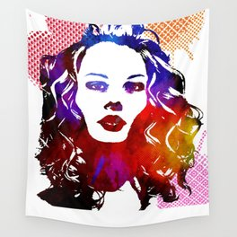 Pop Girl Wall Tapestry