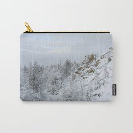 Winter Mountain Carry-All Pouch