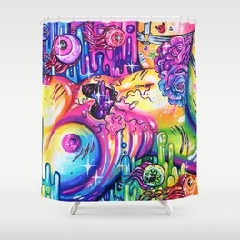 Used Shower Curtain