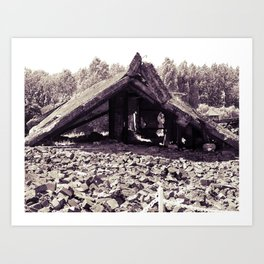 A Ruin with Millions of Secrets Art Print