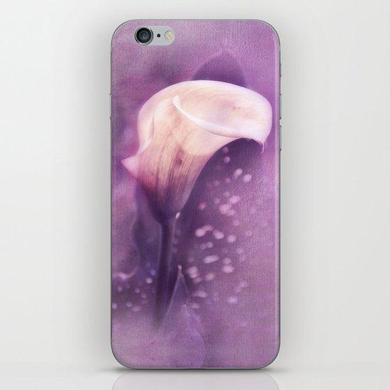 PURPLE CALLA iPhone & iPod Skin