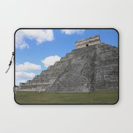 Chichen Itza Temple of Kukulcan south-west View Laptop Sleeve