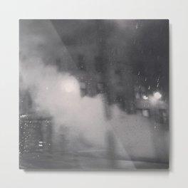 Rain/Smoke Metal Print