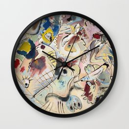Wassily Kandinsky - Sketch Wall Clock