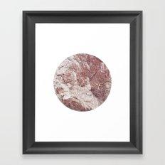 Planetary Bodies - Red Rock Framed Art Print