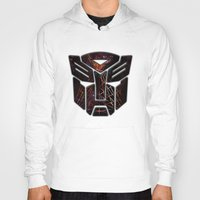 transformers Hoodies featuring Autobots Abstractness - Transformers by DesignLawrence