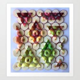 Apple Treeometry Art Print