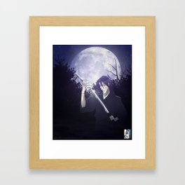 The Refuge - Kain Against the Moon Framed Art Print