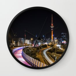 Auckland City cycle path Wall Clock