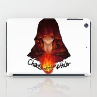 dark souls iPad Cases featuring Dark Souls - Chaos Witch Quelana by Vivid-K