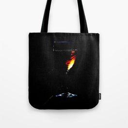 WINE AT NIGHT Tote Bag