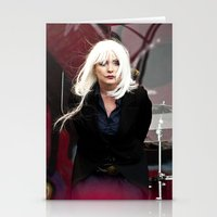 blondie Stationery Cards featuring Blondie by Euan Anderson