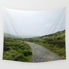 Rainy Hike Wall Tapestry