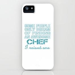 CHEF'S DAD iPhone Case