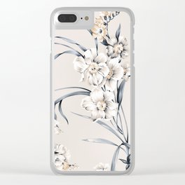 flowers / 24 Clear iPhone Case