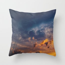 On Your Way Throw Pillow