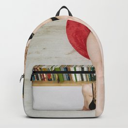 "The least attractive thing you can say to me is ""I don't read books"" Backpack"