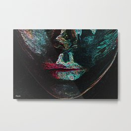Your Lips Metal Print