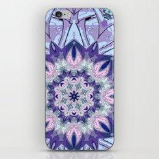 Lavender Meditation Kaleidoscope iPhone & iPod Skin