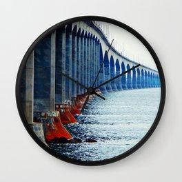 Confederation Bridge New-Brunswick Wall Clock