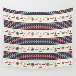 Let's Go Sailing Wall Tapestry