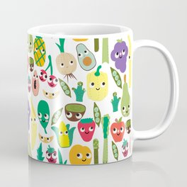 Fruit And Veggie Madness Coffee Mug