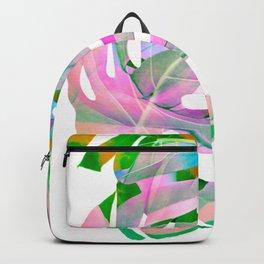 Monstera Rainbow Love #monsteralove  Backpack