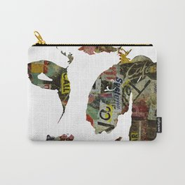 Graffiti Cow Pop Art Colorful Modern Abstract Painting Poster Print Carry-All Pouch