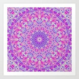 Flower Of Life Mandala (Blooming) Art Print