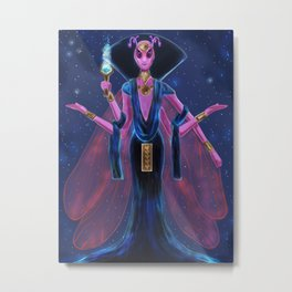 Aniterra Priestess Metal Print