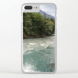 Two rivers Clear iPhone Case