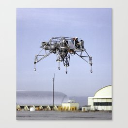 Lunar Landing Research Vehicle in Flight Canvas Print