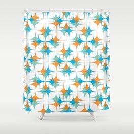 Retro Sparkle Shower Curtain