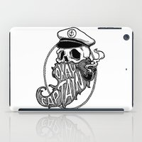 popeye iPad Cases featuring Okay Captain by Wayan Bayu
