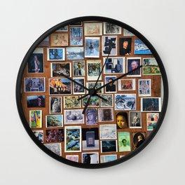 Wooden Postcard Wall Wall Clock