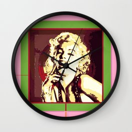 new marilynmonroe Wall Clock