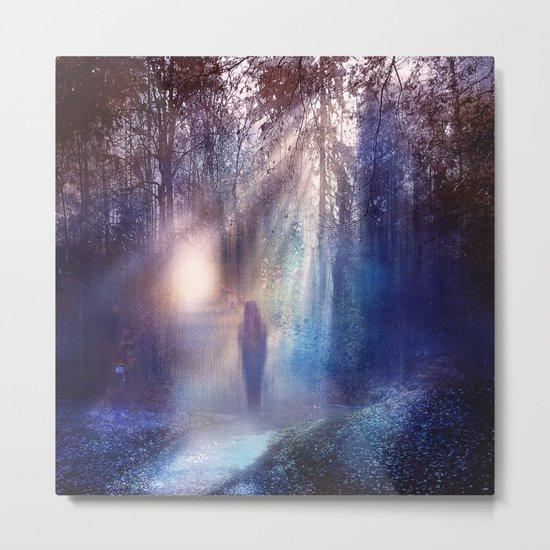 Path lights Metal Print