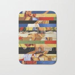 Glitch Pin-Up Redux: Jessica Bath Mat