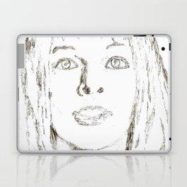 Leeloo Fifth Element sketch- Milla Jovovich Laptop & iPad Skin