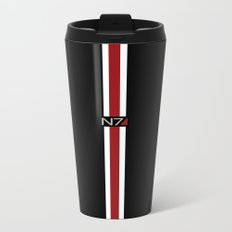 Mass Effect | Commander Shepard  Metal Travel Mug