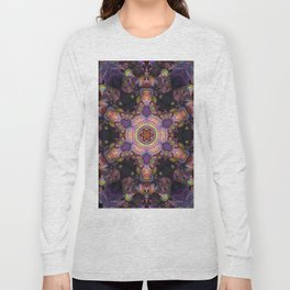 Psychedelic Star Long Sleeve T-shirt