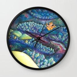 Mushroom Pathway Wall Clock