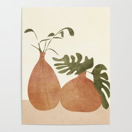 Two Living Vases Poster